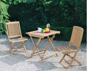 2 seater garden folding table and chairs
