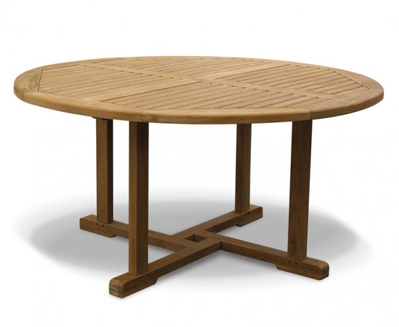 Canfield Teak Circular Garden Table - 150cm