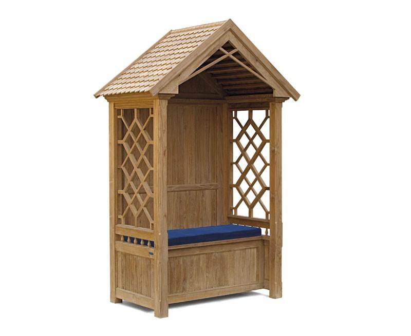 Teak Garden Arbour Bench | Garden Arbour Seat