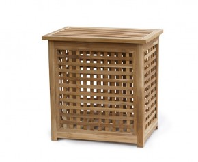 Tango Teak Garden Storage Box - Medium - Garden Storage Boxes