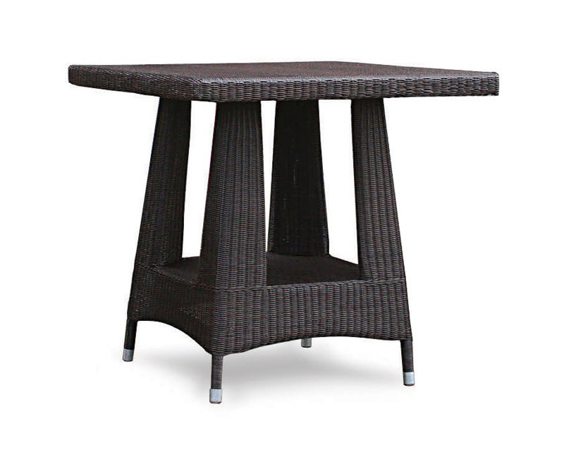 riviera all weather wicker dining table