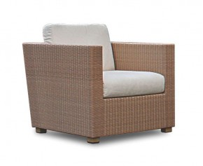 Riviera Wicker Rattan Sofa Chair - Synthetic Rattan