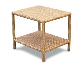 Riviera Rattan Garden Side Table - 60cm - Rattan Tables
