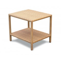 Riviera Rattan Garden Side Table - 60cm