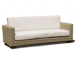 Seagrass Water Hyacinth 3 Seat Sofa - Woven Furniture