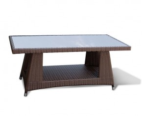 Riviera All Weather Wicker 4ft Coffee Table  - 4 Seater Dining Tables
