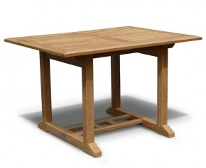 Hilgrove 4ft Teak Rectangular Garden Table - Fixed Tables