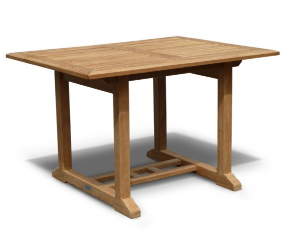 Hilgrove 4ft Teak Rectangular Garden Table