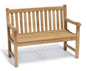 Windsor Garden Bench 1.2m - 2 Seater Garden Benches