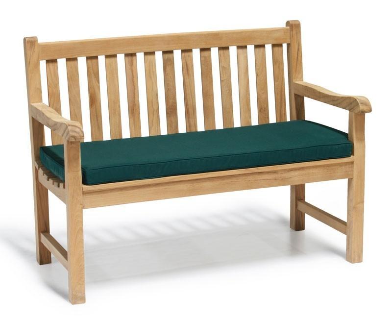 Windsor Teak 4ft Garden Bench Small Outdoor Bench
