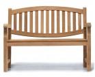 Ascot Teak 2 Seater Garden Bench 1.2m
