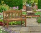 Tribute 4ft Teak Commemorative Memorial Bench