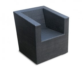 Eclipse Wicker Sofa Armchair - All Weather Wicker