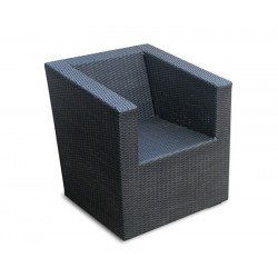 Eclipse Wicker Sofa Armchair