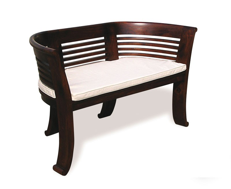 kensington 2 seater bench cushion indoor bench cushion