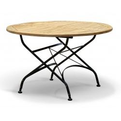 Bistro Folding Table | Teak Round - 120