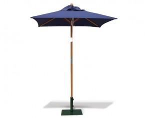 Square Garden 1.5m Parasol - FSC Eucalyptus Hardwood Parasol - Garden Parasols