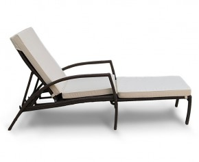 Monaco Rattan Sun Lounger Cushion - Steamer Chair Cushions