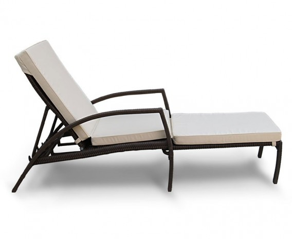 Monaco Rattan Sun Lounger Cushion