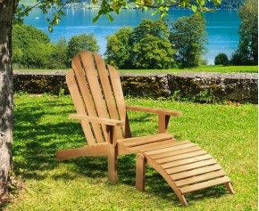 Adirondack Chair Teak  - Deck Chairs