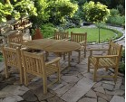 Taverners Six Seater Extendable Dining Set