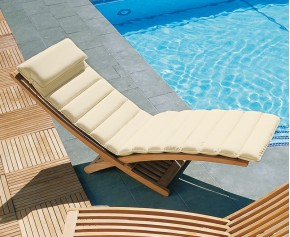Chelsea Luxury Sun Lounger Cushion - Garden Cushions