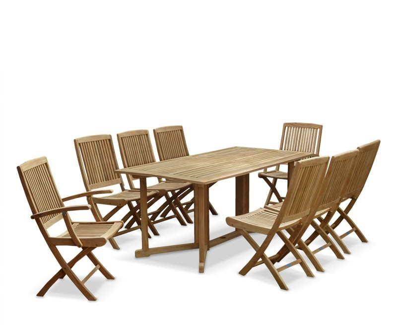 Shelley teak garden drop leaf table and chairs set shelley gateleg table and rimini chairs - Gateleg table with chairs ...