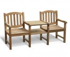 Ascot Vista Teak Companion Seat