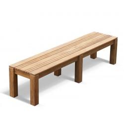 Chichester Teak 2m Backless Bench