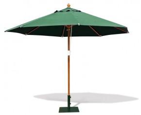 Parasol 3.3m Sunset Octagonal Green - End Of Line Sale - Garden Ornaments