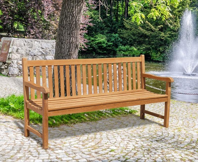 Windsor Teak 6ft Garden Bench