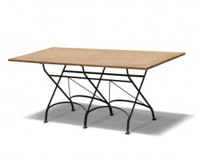 Rectangular Folding Bistro Table - 1.8m - Bistro Tables