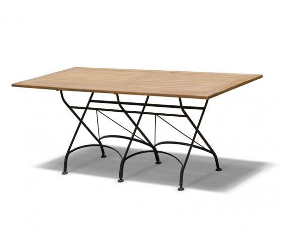 Rectangular Folding Bistro Table - 1.8m
