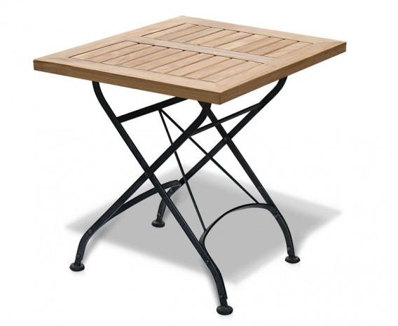 Square Folding Bistro Table - 60cm