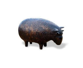 Rambaabaa Sheep Bronzed Garden Ornament