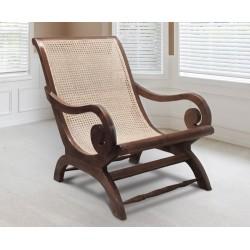 Capri Teak Lazy Chair - Reclaimed Teak