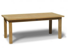 Balmoral 6ft Teak Garden Rectangular Table - 8 Seater Dining Tables