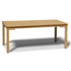 Sandringham Teak 6ft Outdoor Rectangular Dining Table
