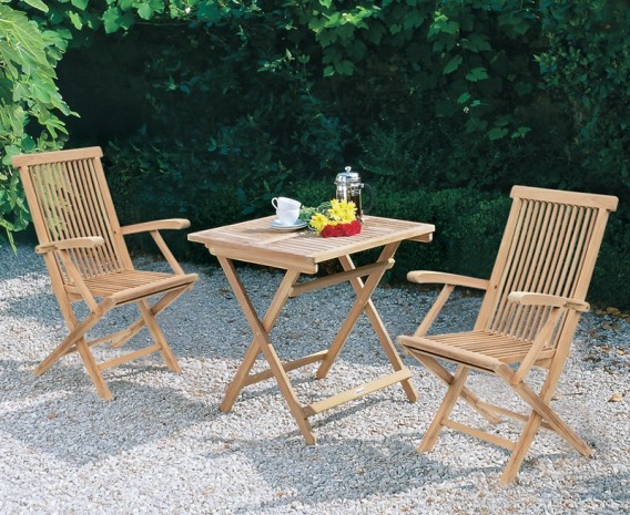 2 seater folding garden table and chairs