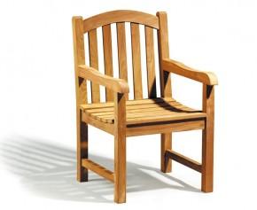 Clivedon Teak Garden Armchair - Clivedon Chairs