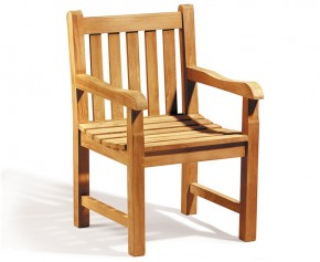 Windsor Teak Garden Armchair - Armchairs