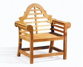 Lutyens Chair, Teak Garden Armchair - Teak Garden Chairs