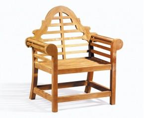 Lutyens-Style Chair, Teak Garden Armchair