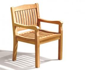 Hilgrove Garden Teak Armchair - Hilgrove Chairs