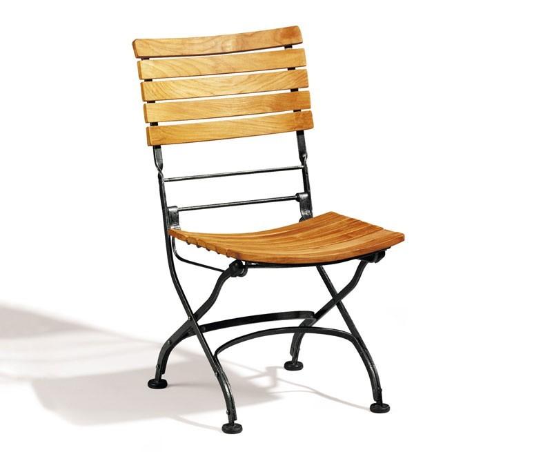 Bistro Chair Teak Folding