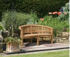 Wimbledon Teak Table and Benches Set