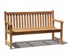 Sandringham 1.5m Teak Garden Table and Bench Set