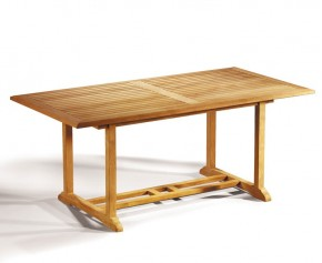 Hilgrove Teak 6ft Rectangular Garden Table - 6 Seater Dining Tables