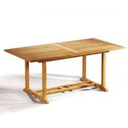 Hilgrove Teak 6ft Rectangular Garden Table
