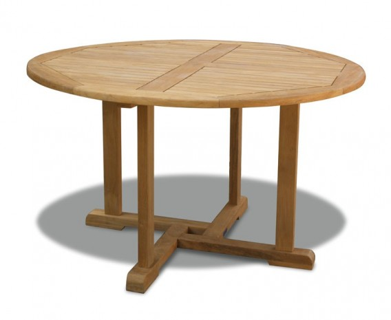 Canfield Teak Outdoor Round Table - 130cm